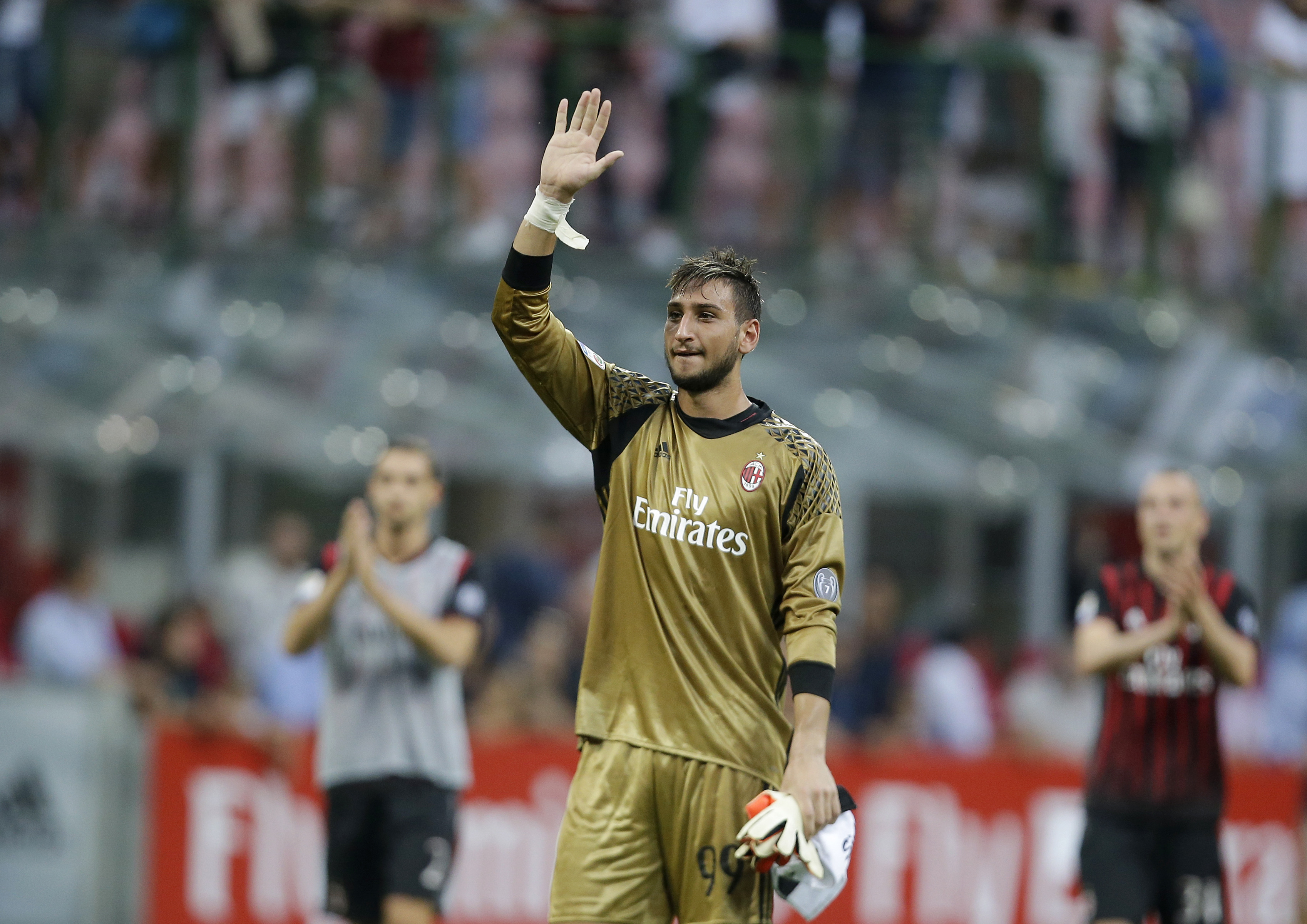 Reina will be behind Gianluigi Donnarumma in the pecking order. Image: PA Images