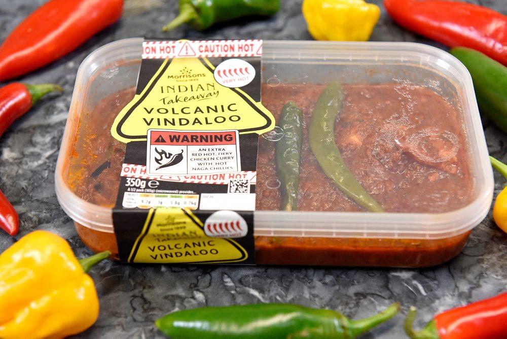 Morrisson's Vindaloo Hot Curry