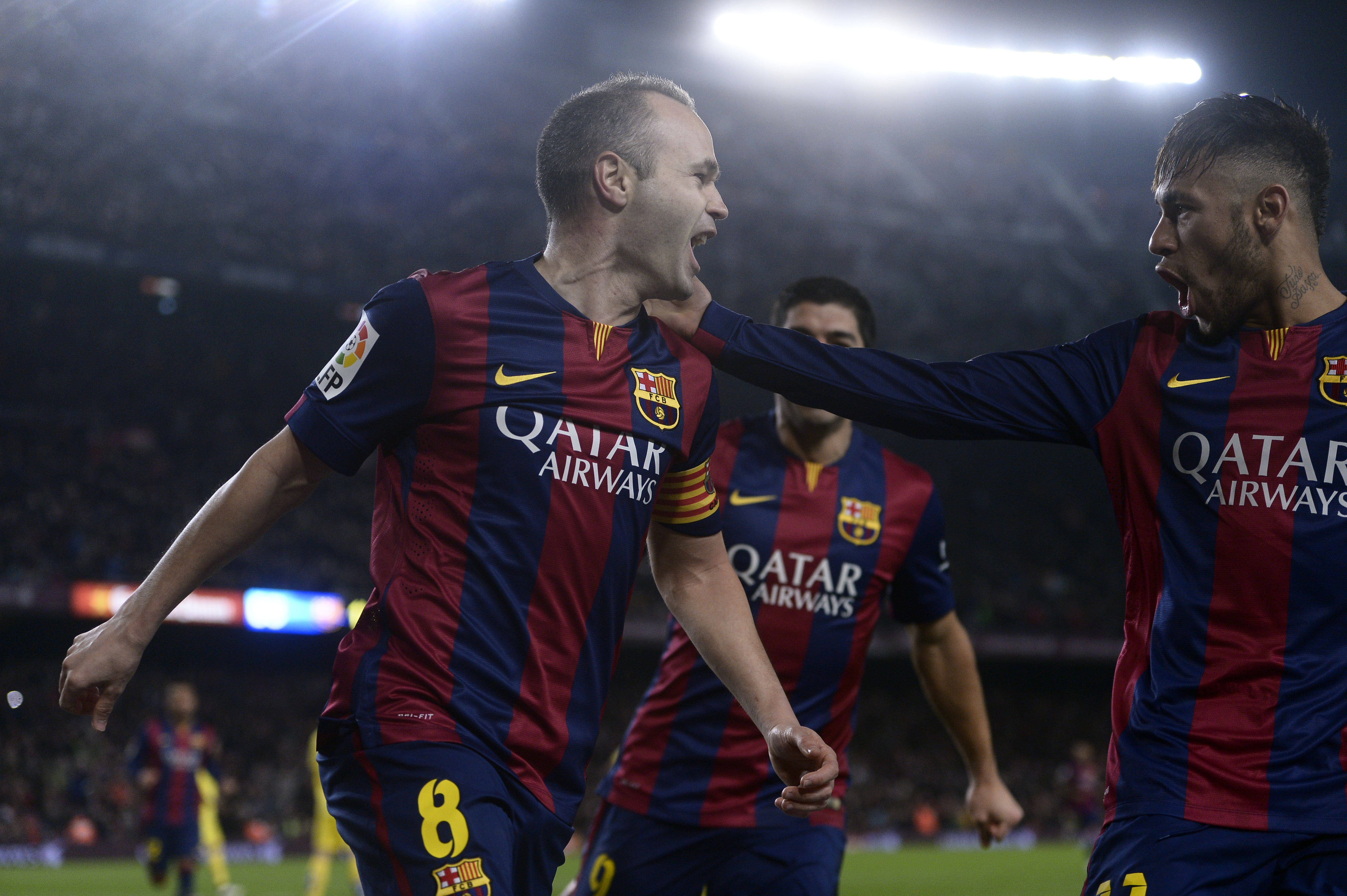 Would Iniesta leave La Liga for the Premier League? Image: PA Images