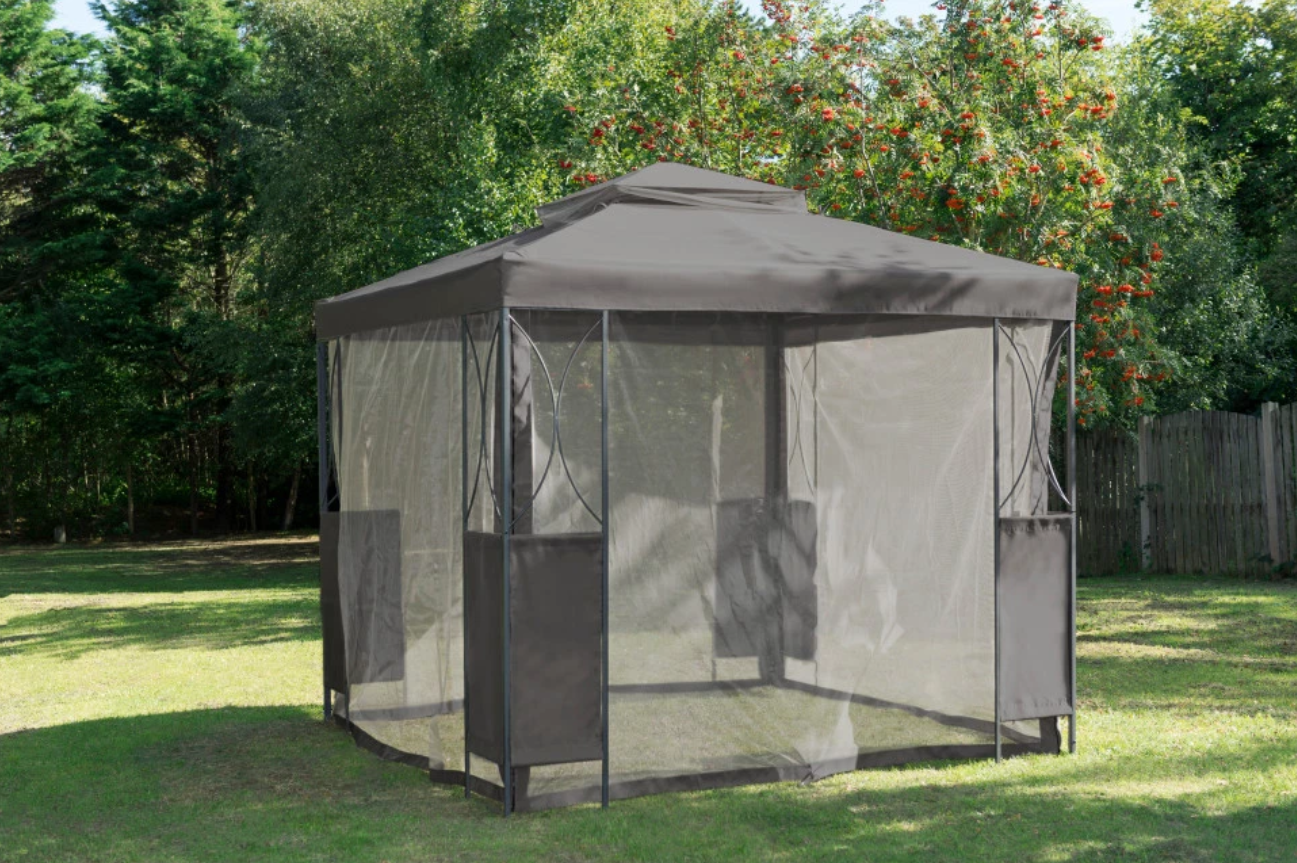 B Amp M Is Selling A Gazebo With Mosquito Nets For Just 163 100