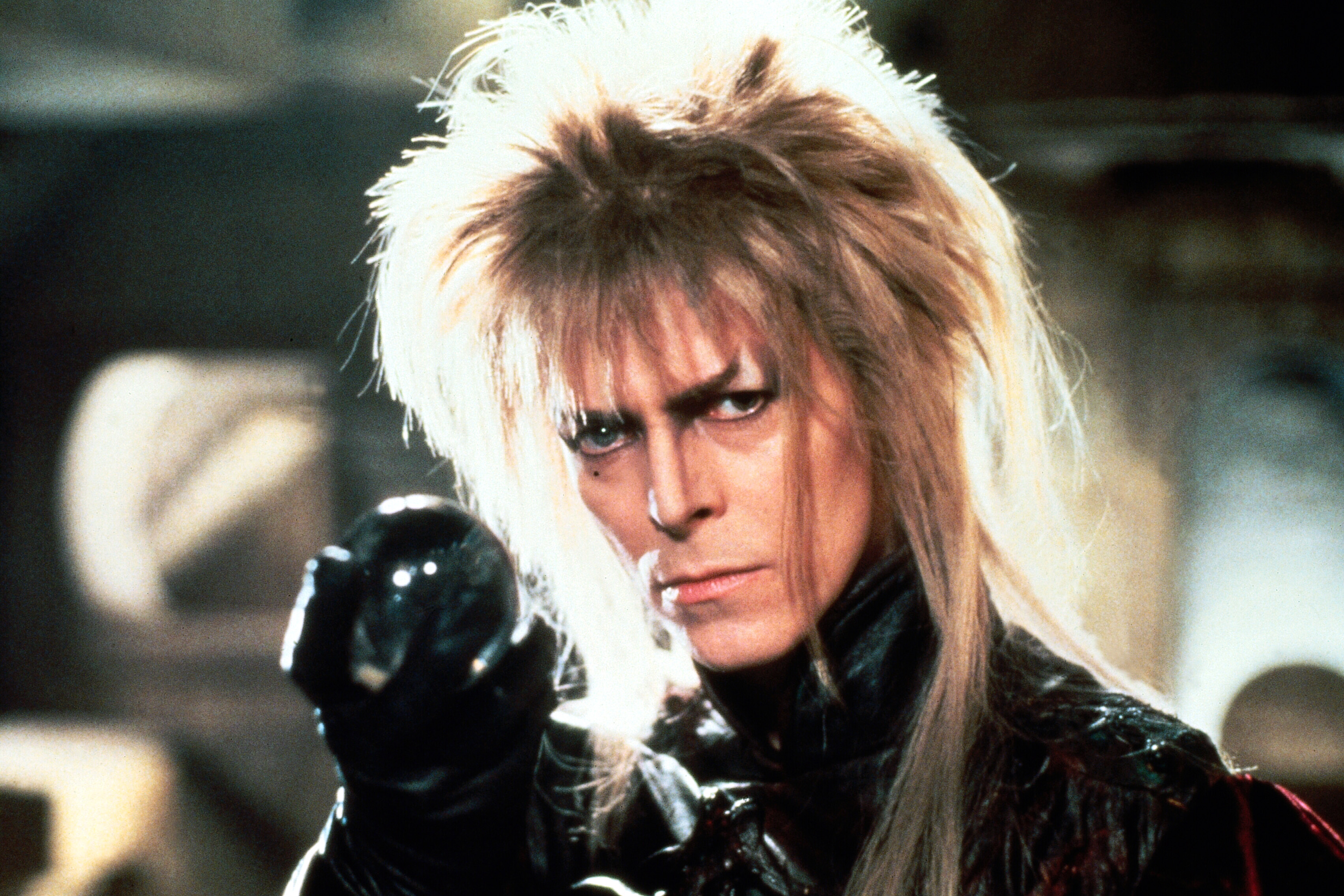 Bowie as Jareth in Labyrinth. Credit: TriStar Pictures
