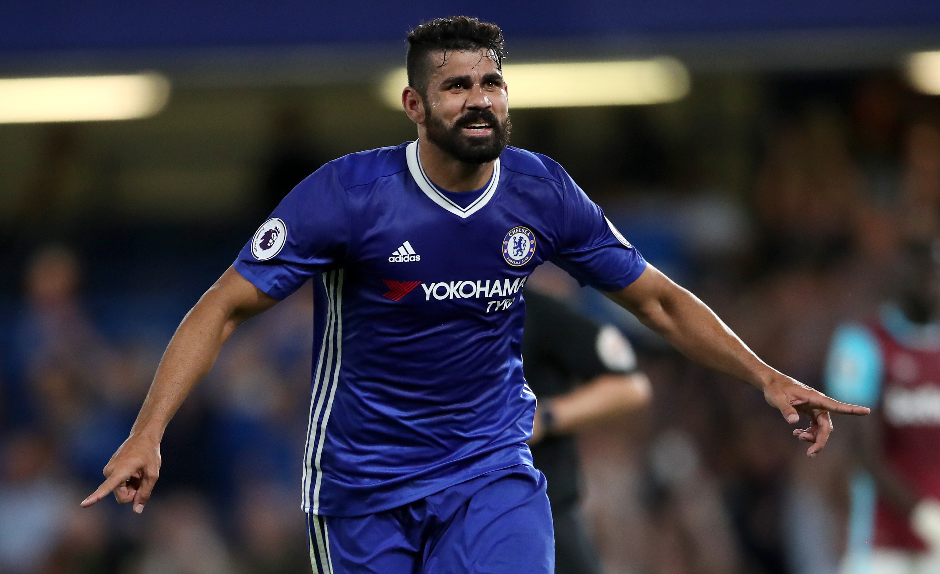 Diego Costa announces that he is not in Antonio Conte's future plans
