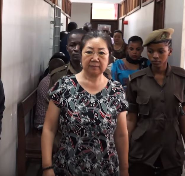 Yang Fenglan, 69, was sentenced followed her involvement in one of Africa's biggest ivory-smuggling rings. Credit: VOA News
