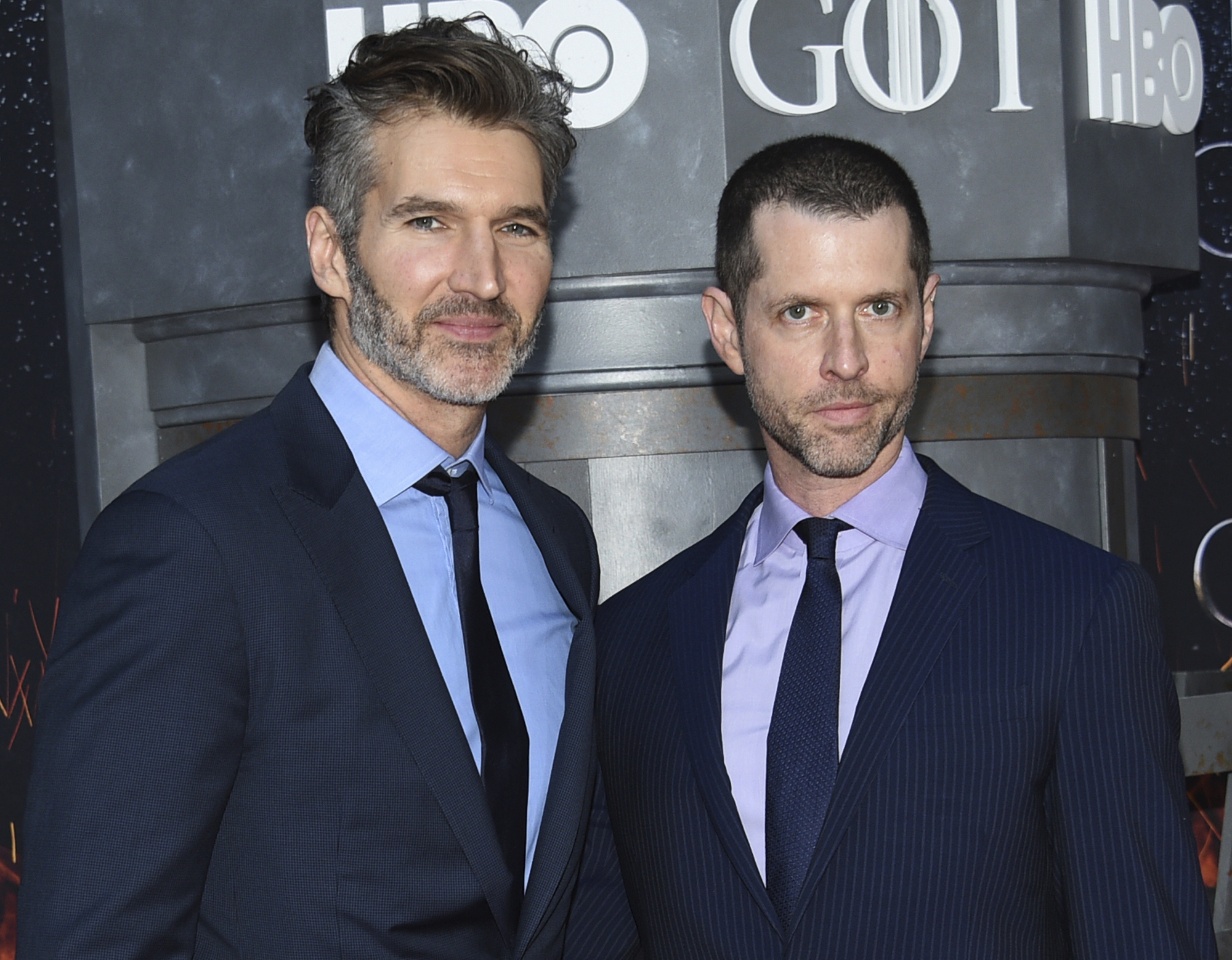 David Benioff and D.B. Weiss have shared their plans for the finale. Credit: PA