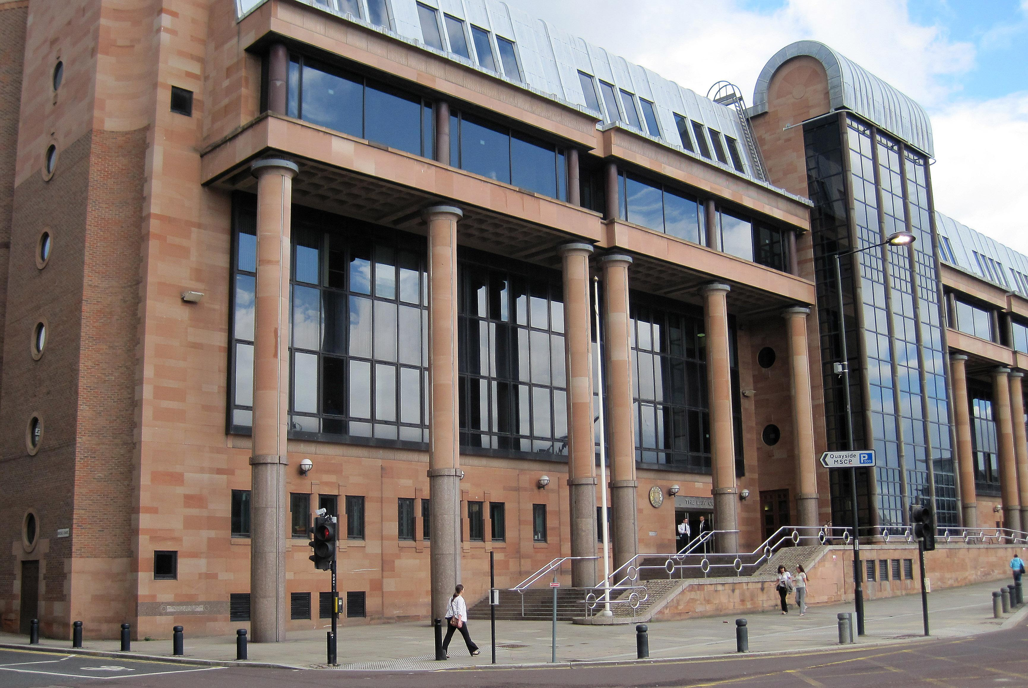 Newcastle Crown Court. Credit: PA