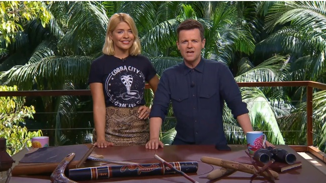 Get A First Look At Holly Willoughby And Declan Donnelly In The Jungle