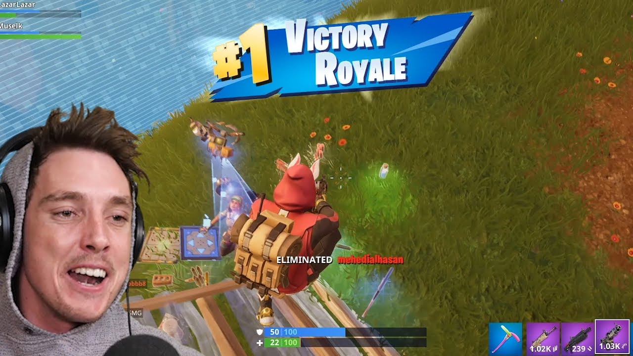 LazarBeam Is Huge On YouTube For Fortnite Streaming. Credit: YouTube / LazarBeam