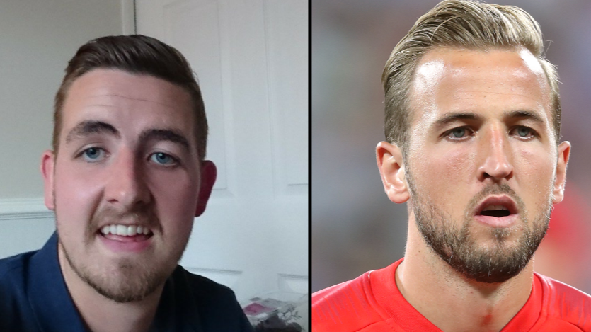 Harry Kane Lookalike Congratulated By Football Fans After England's Win