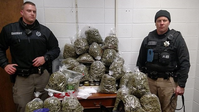Pensioners Caught With $336,000 Worth Of Cannabis Intended For 'Christmas Presents'