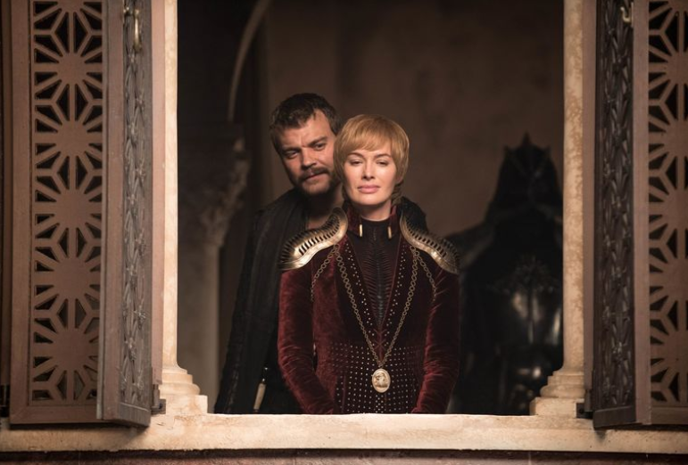 Cersei has starred int he series since it began in 2011. Credit: HBO
