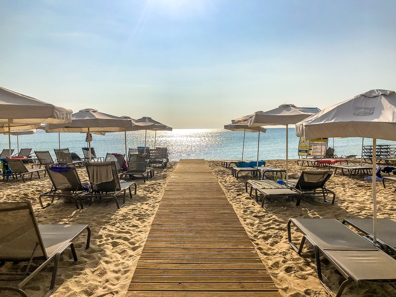 Sunny Beach, Bulgaria does exactly what it says on the tin - plus it's really cheap. Credit: PA