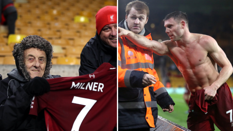 best website 0ec69 1bf76 James Milner Sends Shirts To Two Kids Who Gave Up His ...