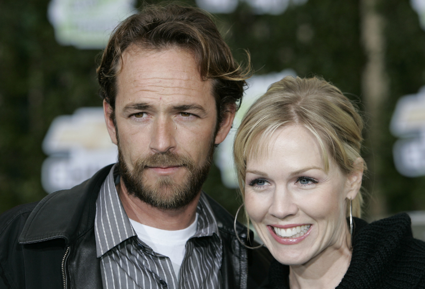 People have been paying tributes to Luke Perry after he died following a huge stroke. Credit: PA
