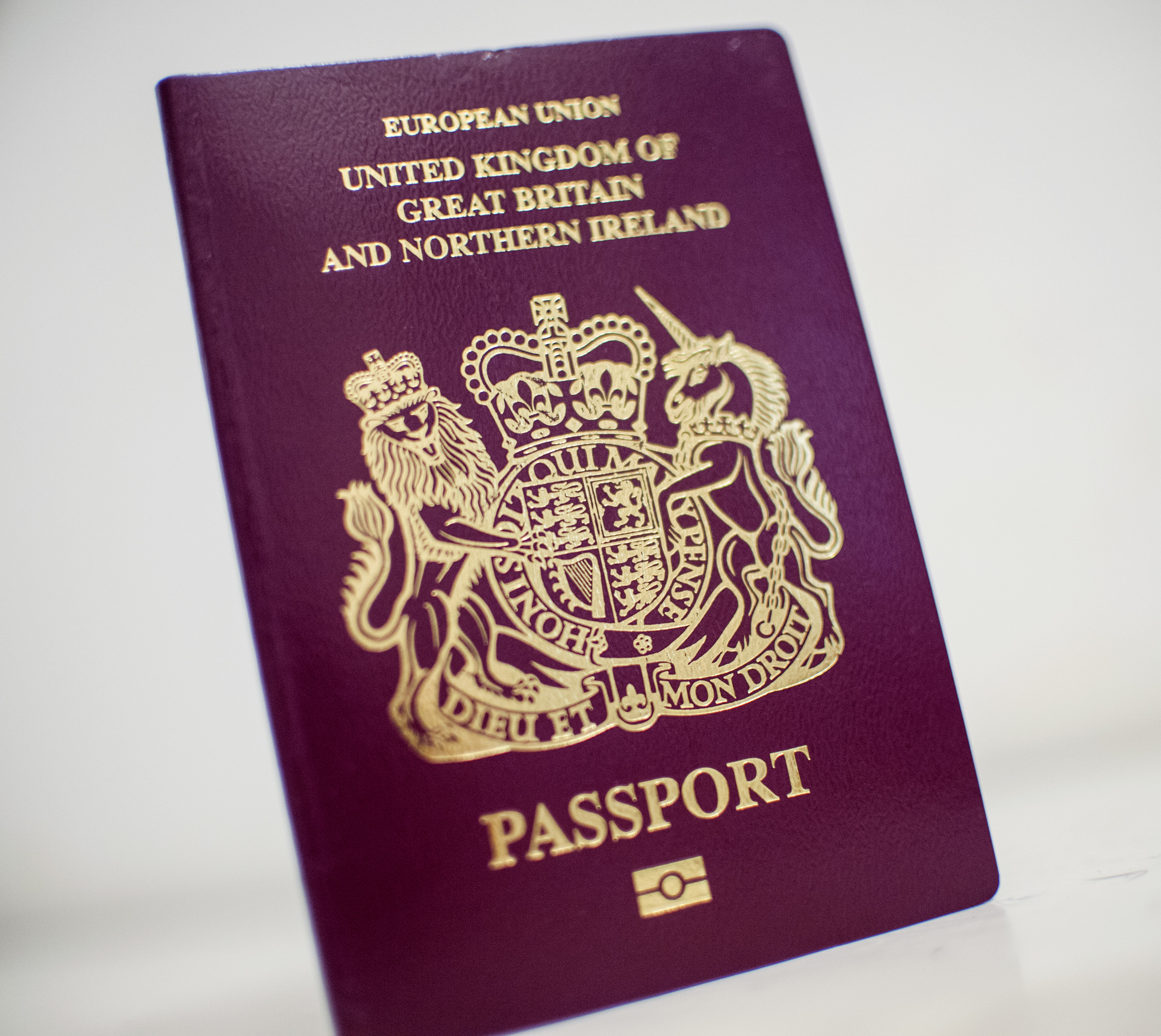 The British passport has dropped to sixth place this year. Credit PA