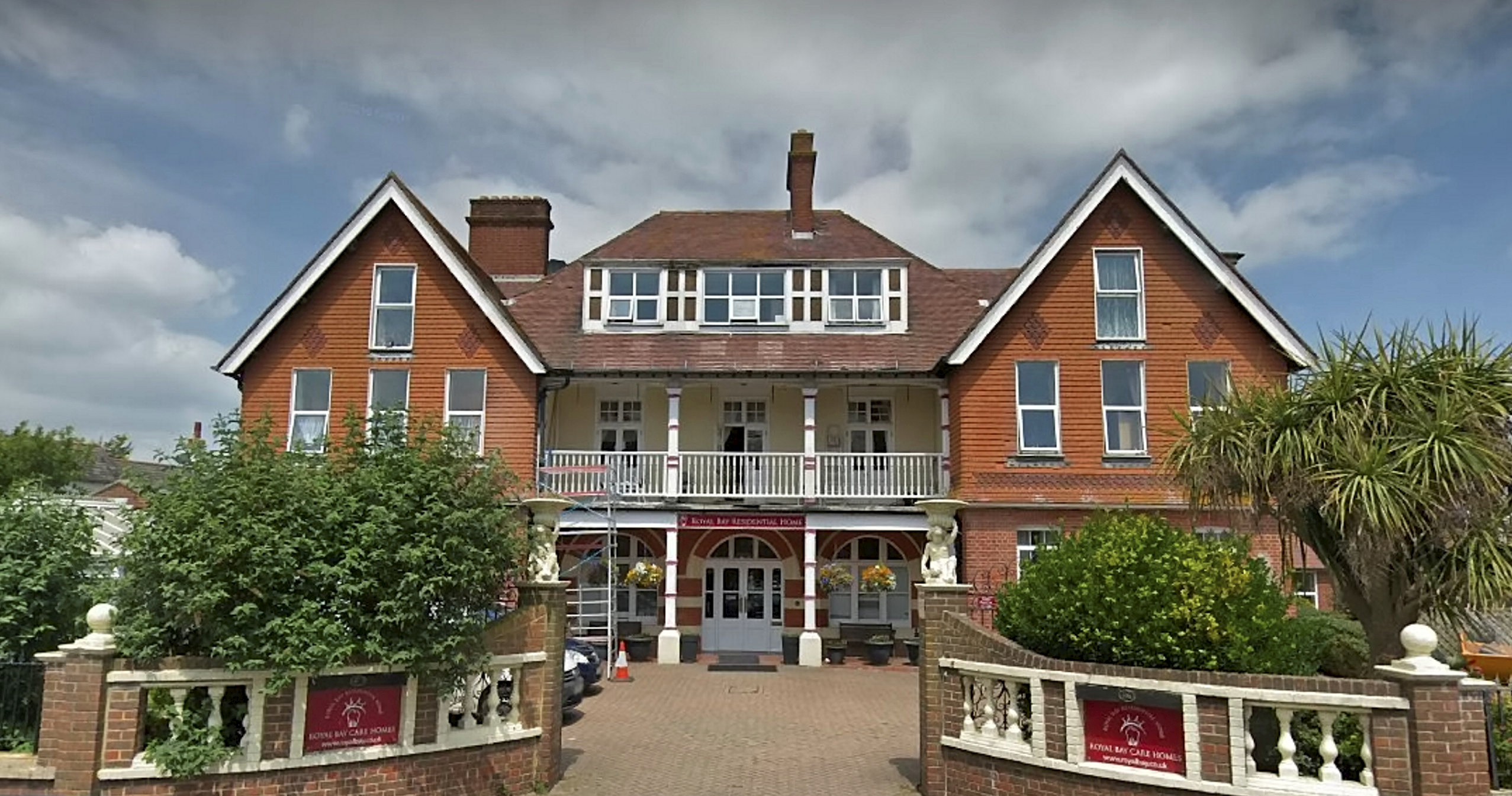 Royal Bay Residential Care Home closed last week. Credit: SWNS