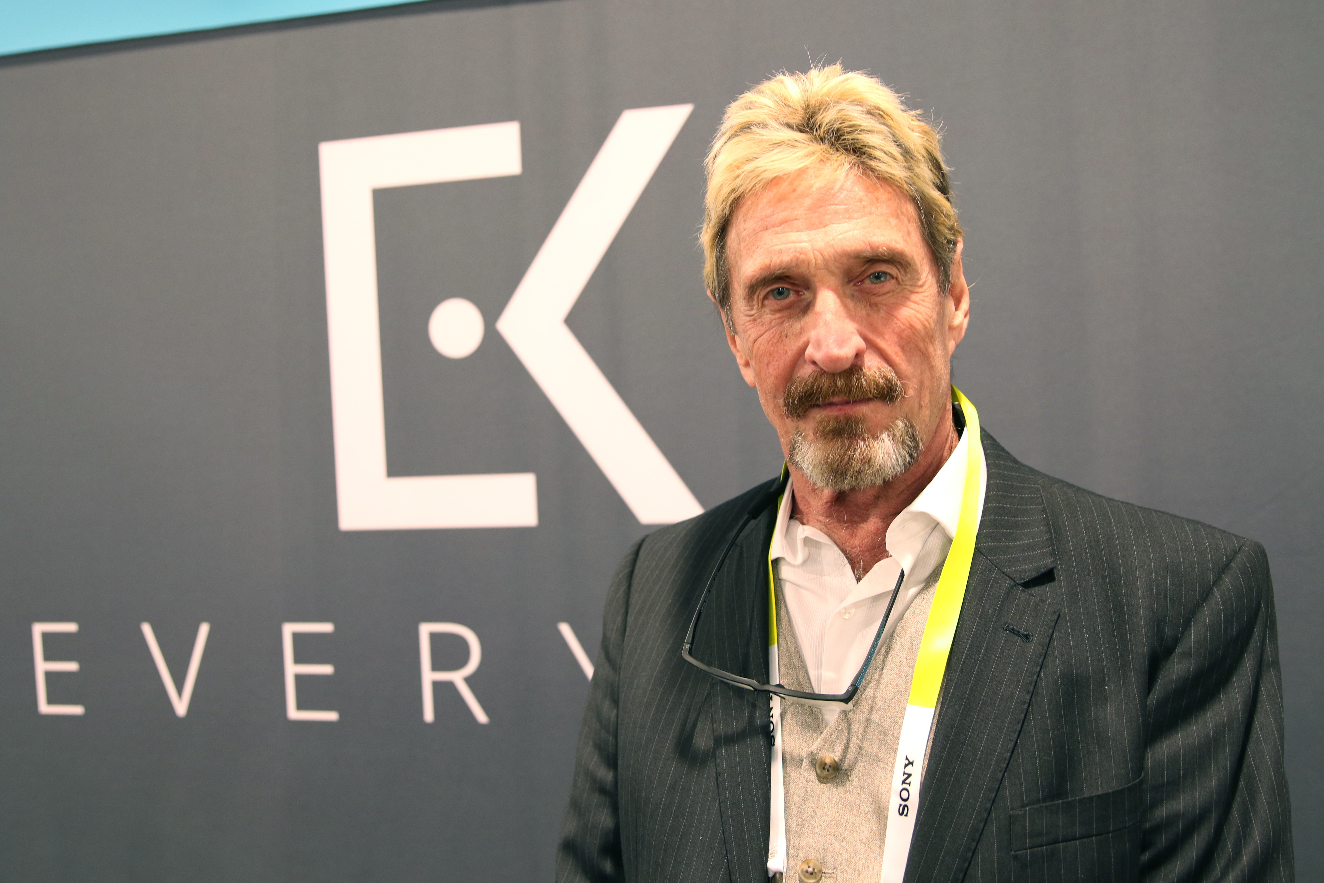 Software Pioneer John McAfee Claims He Was 'Poisoned' By 'Incompetent Enemies'
