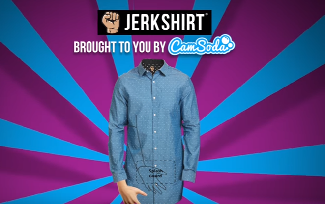 The Jerk Shirt Lets You Masturbate Without Getting