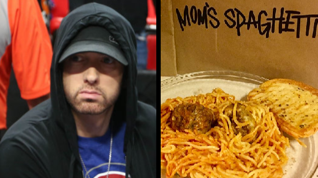 Eminem Opens Pop-Up Spaghetti Restaurant In Detroit To Promote New Album