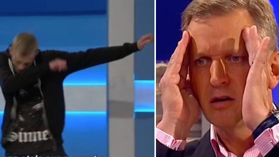 A Guest On Jeremy Kyle Taught Him How To Dab And It's Hilarious