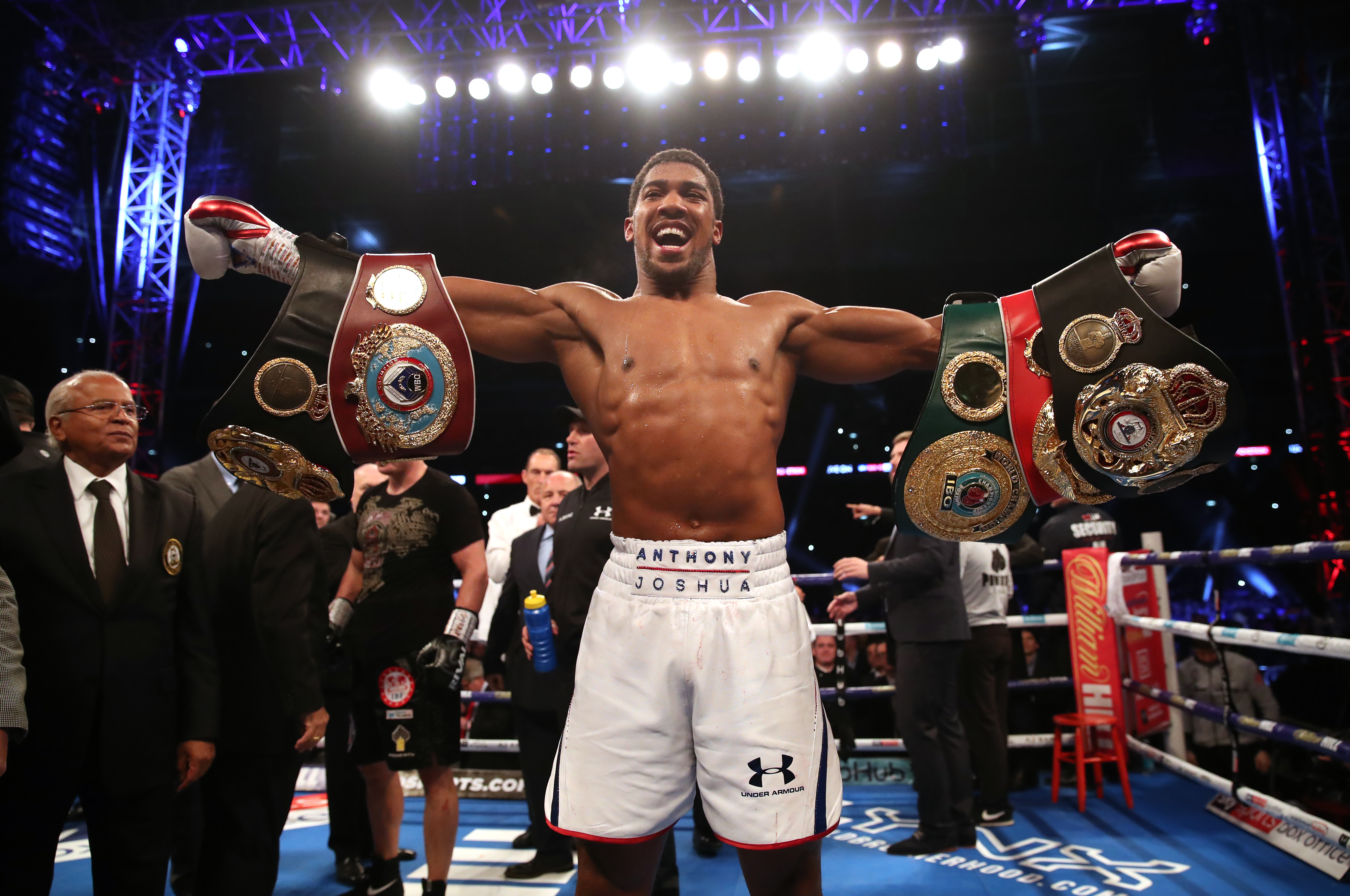 AJ was the first man to stop Povetkin. Image: PA Images