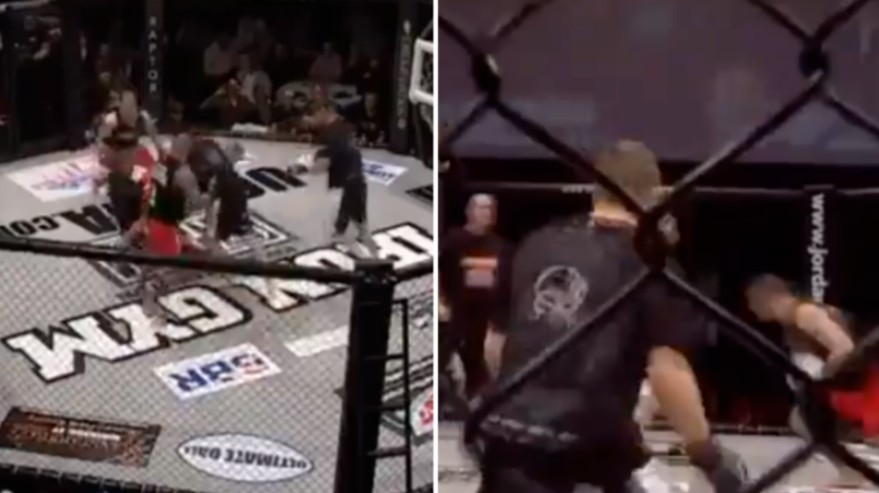 One MMA Promotion Once Ran An MMA And Rugby Tournament And It Was Mental