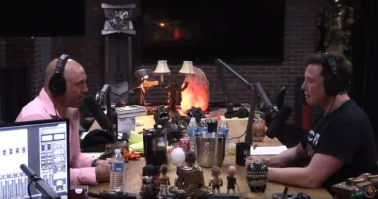 Elon Musk shares marijuana with Joe Rogan as pair talk AI & flamethrowers