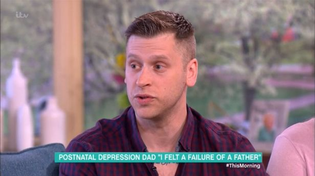 Dad Opens About His Struggle With Paternal Postnatal Depression
