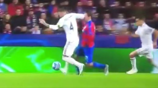 Football Fans Want Sergio Ramos Banned After Disgusting Challenge