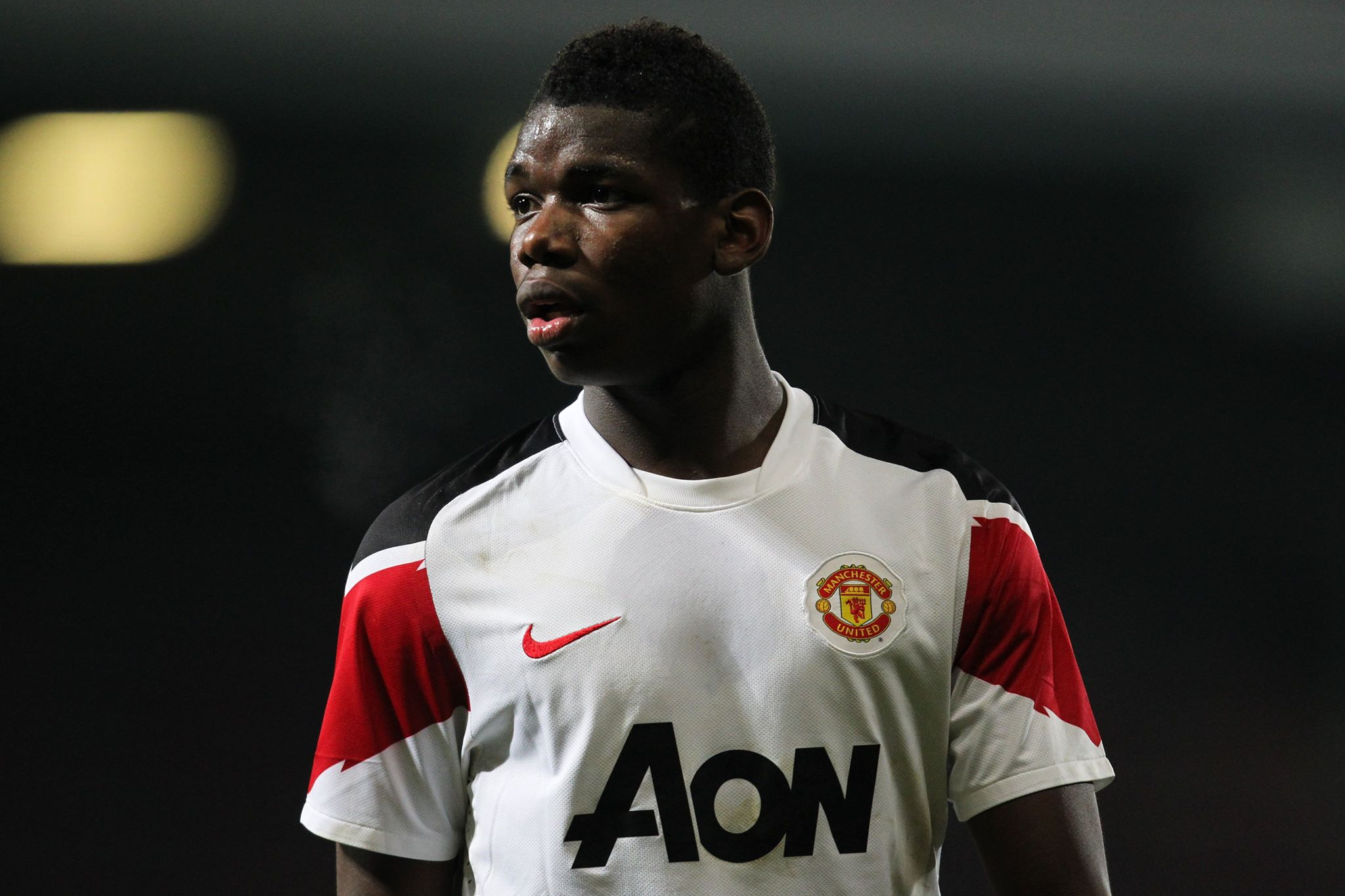 Pogba returned to United and signed his first deal there. Image: PA Images