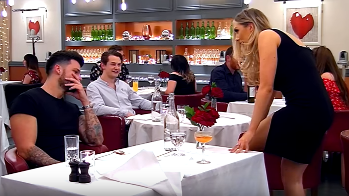 Woman On 'First Dates' Tells Man She's Been 'Scooped' By Aliens