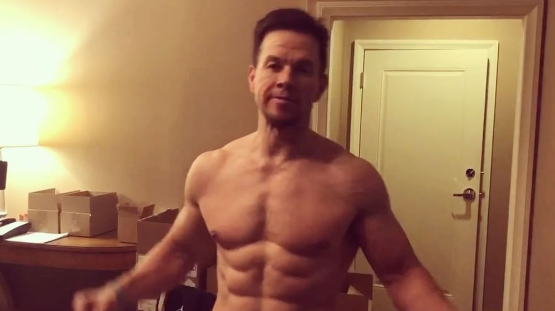 Mark Wahlberg Is Cutting To Six Percent Body Fat For 'Mile 22' Role