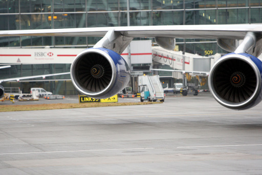 Generic picture of plane's engines. Credit: PA