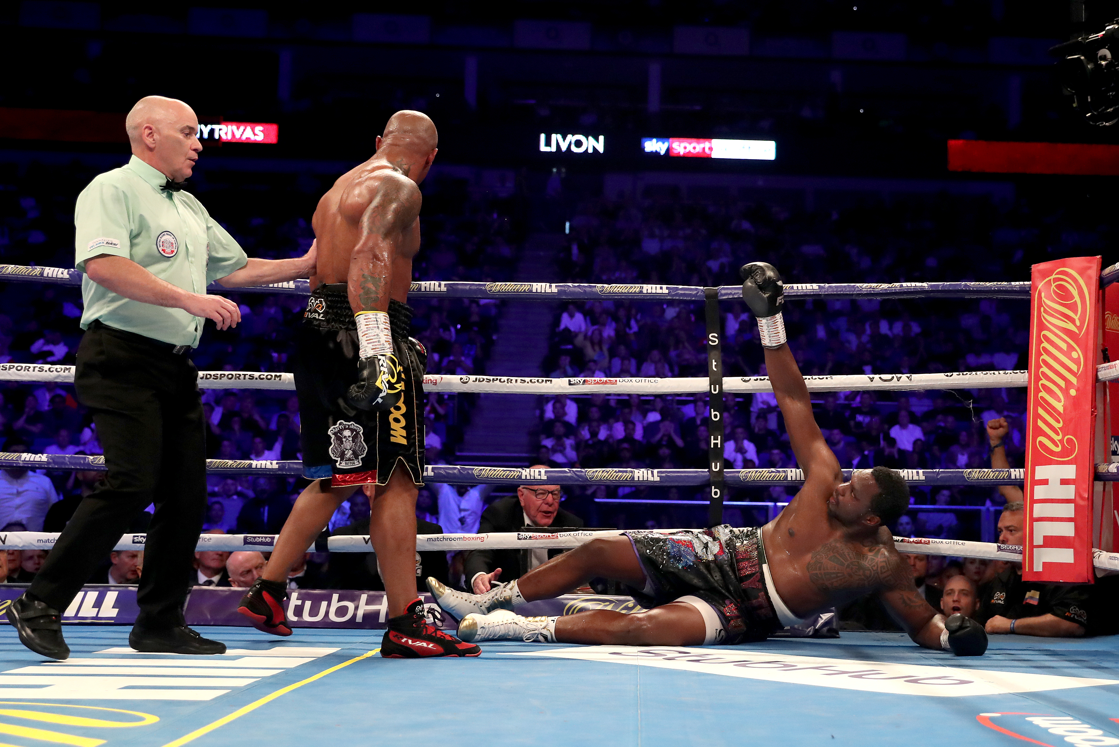 Dillian Whyte reportedly tested positive for banned substance before fighting Oscar Rivas