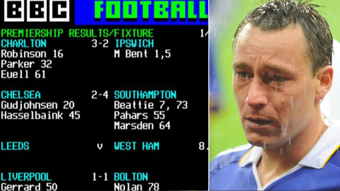 Teletext Has Officially Been Switched Off And It's A Sad Day For Football Fans