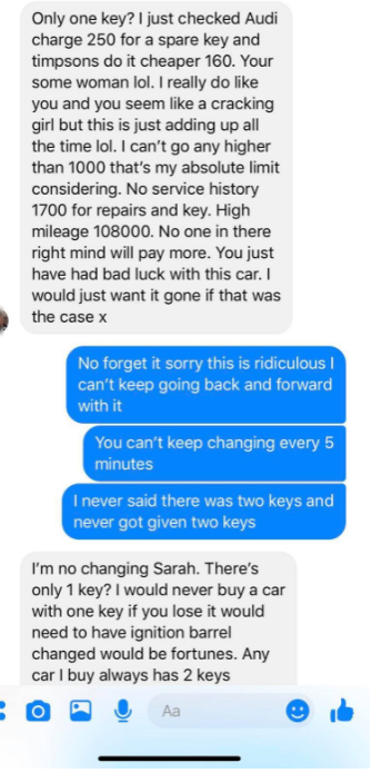 Mark said selling on the car is his prerogative. Credit: Kennedy News and Media
