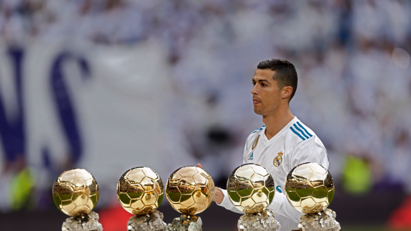 Records & Accolades! Cristiano Ronaldo Wins His Fifth Ballon d'Or