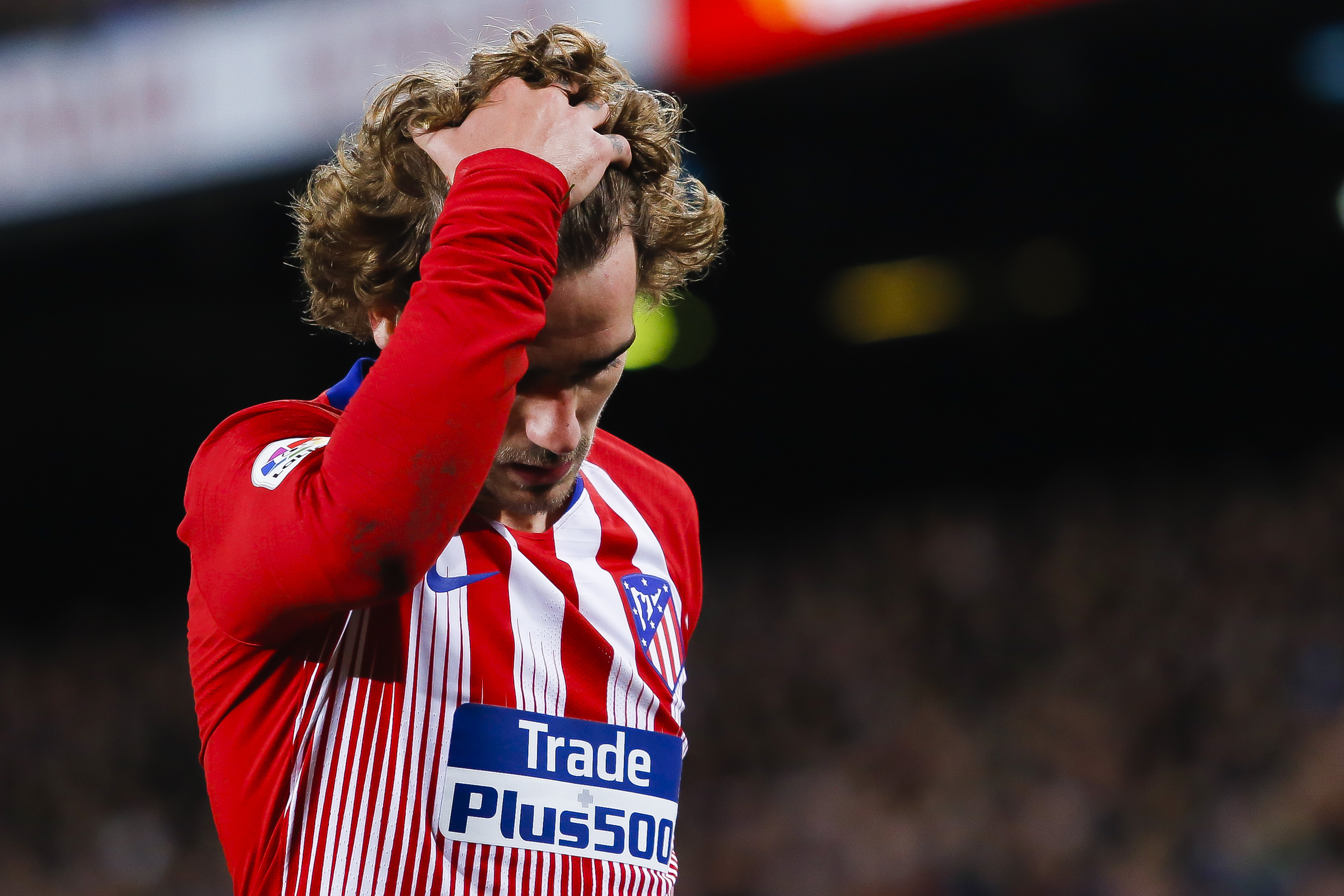 Antoine Griezmann with Atletico Madrid (Image Credit: PA)