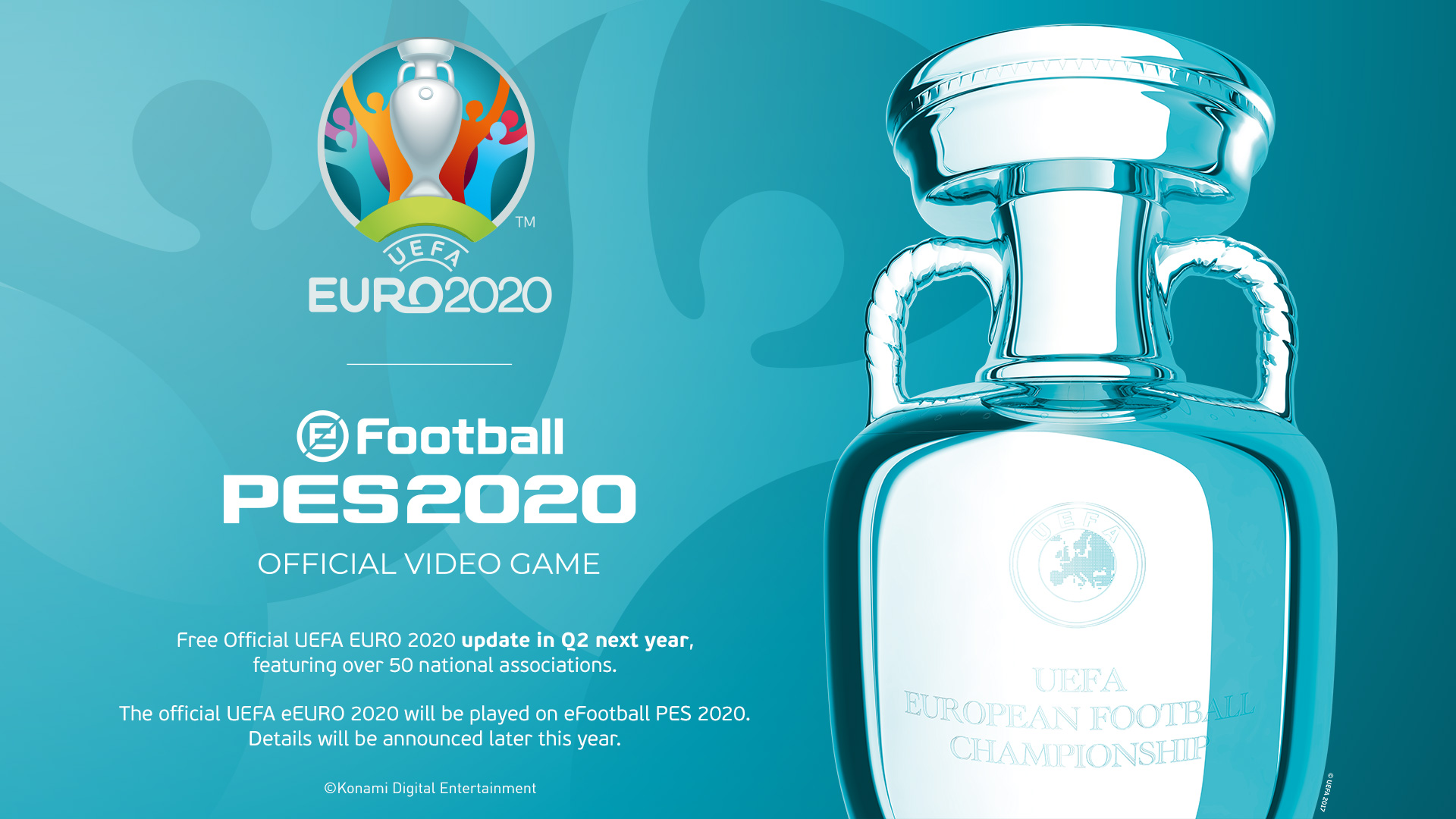 PES 2020 to get Euro 2020 tournament DLC