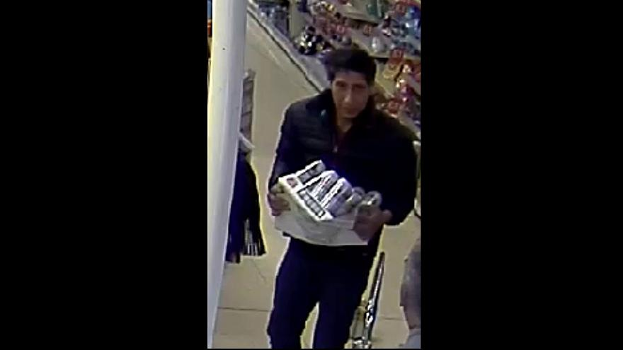 UK police hunt shoplifter who looks like David Schwimmer