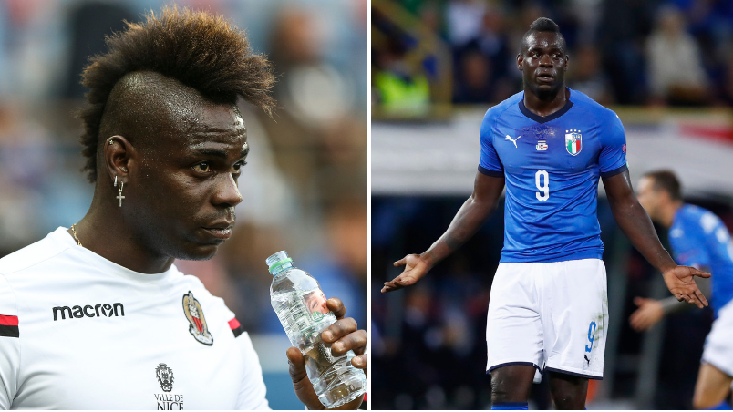 Mario Balotelli Reported To Nice Training Two Weeks Late And Overweight