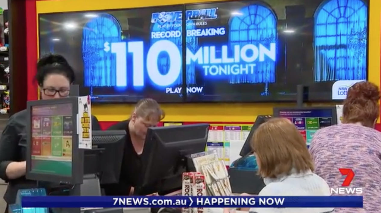 Three Aussies Share In Massive $110 Million Powerball Jackpot