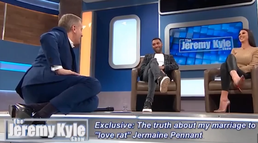CBB star Jermaine Pennant storms off Jeremy Kyle show