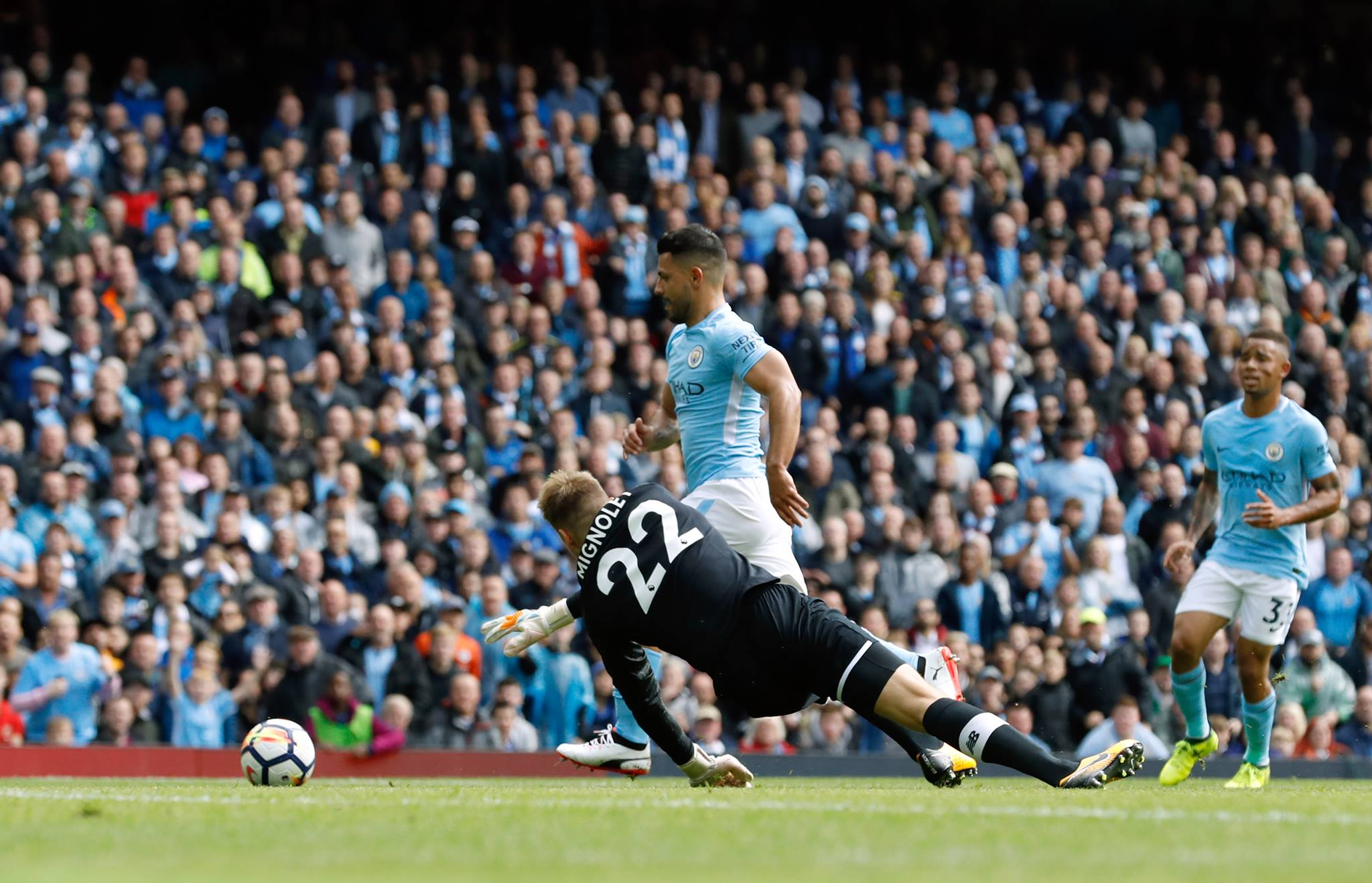 Premier League top scorers: Lukaku, Morata, Aguero level as race hots up