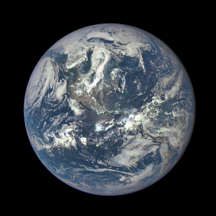 The new planet is twice the size of Earth. (Credit: NASA)