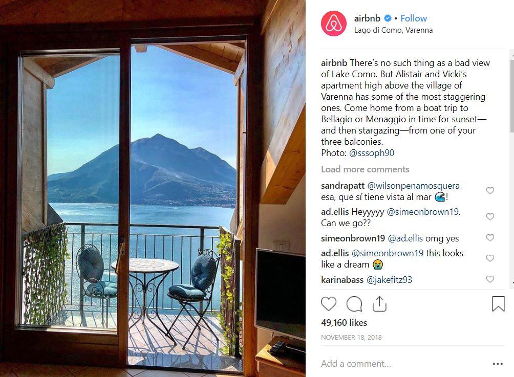 Credit: Instagram/Airbnb