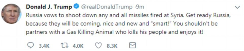 Credit: Twitter/@realDonaldTrump