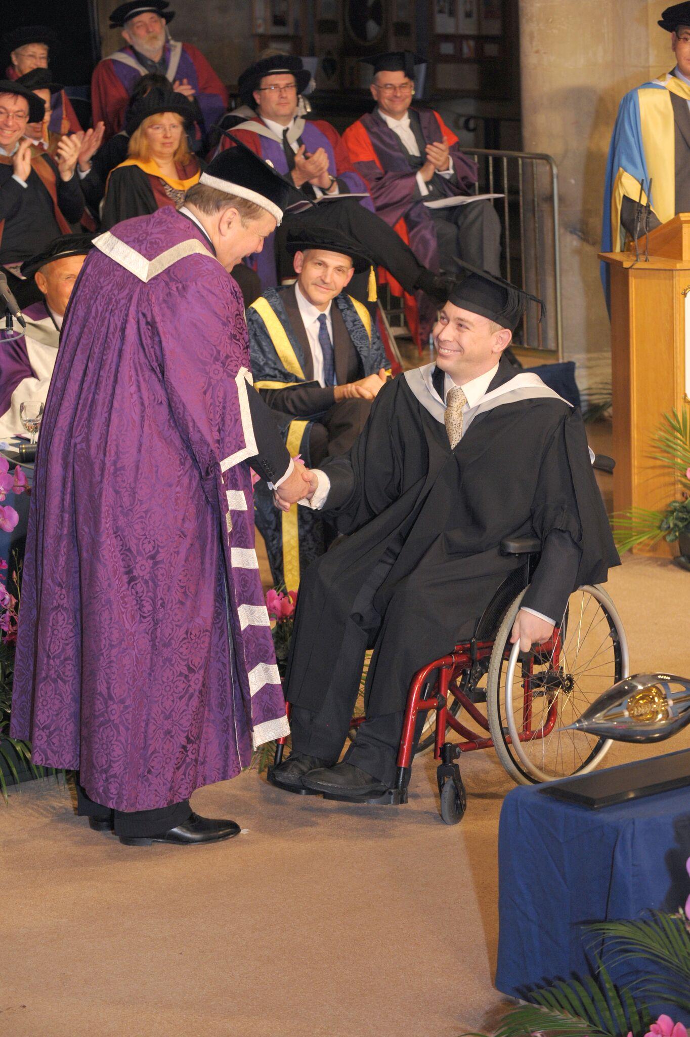 Martin graduating