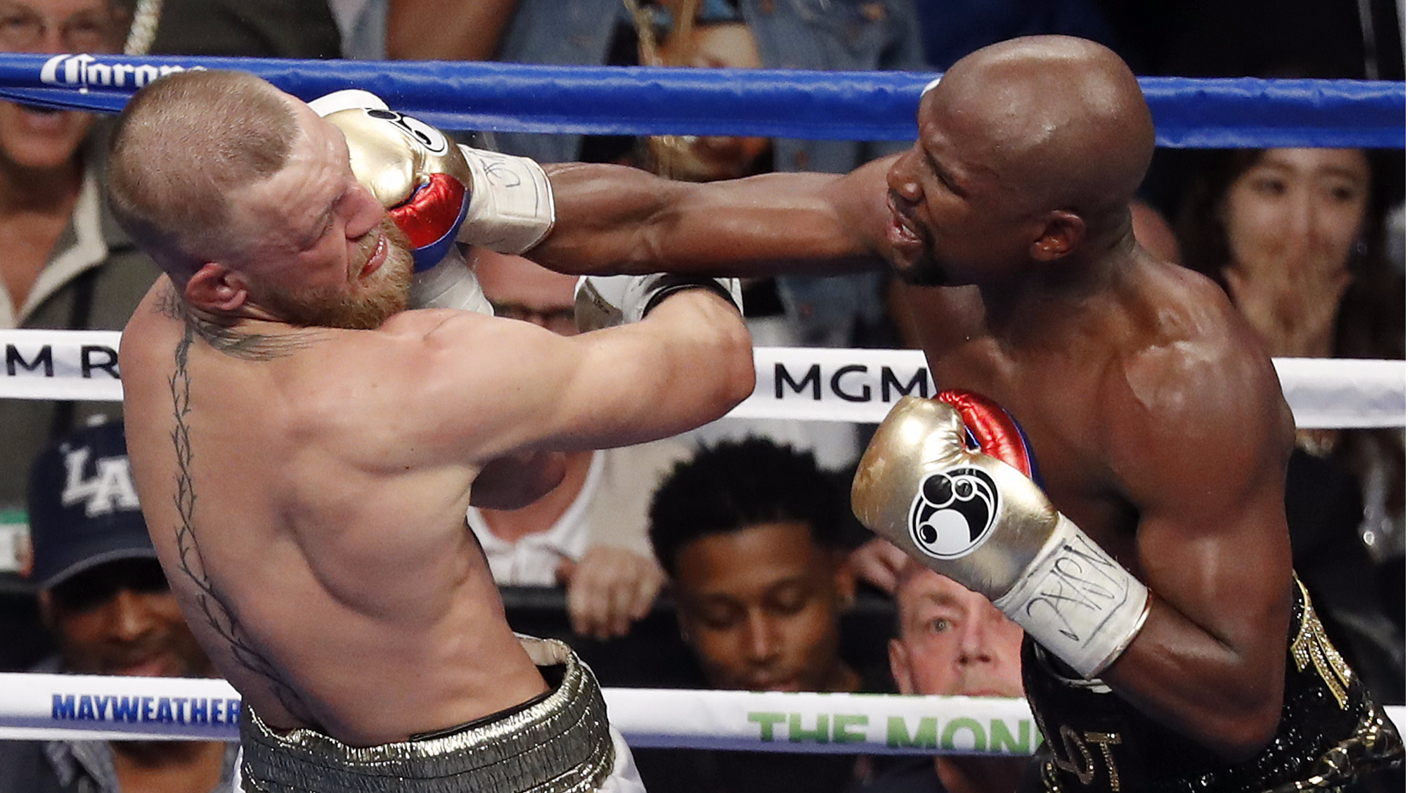 Mayweather 'Did Not Train For McGregor Fight', Says Floyd Snr
