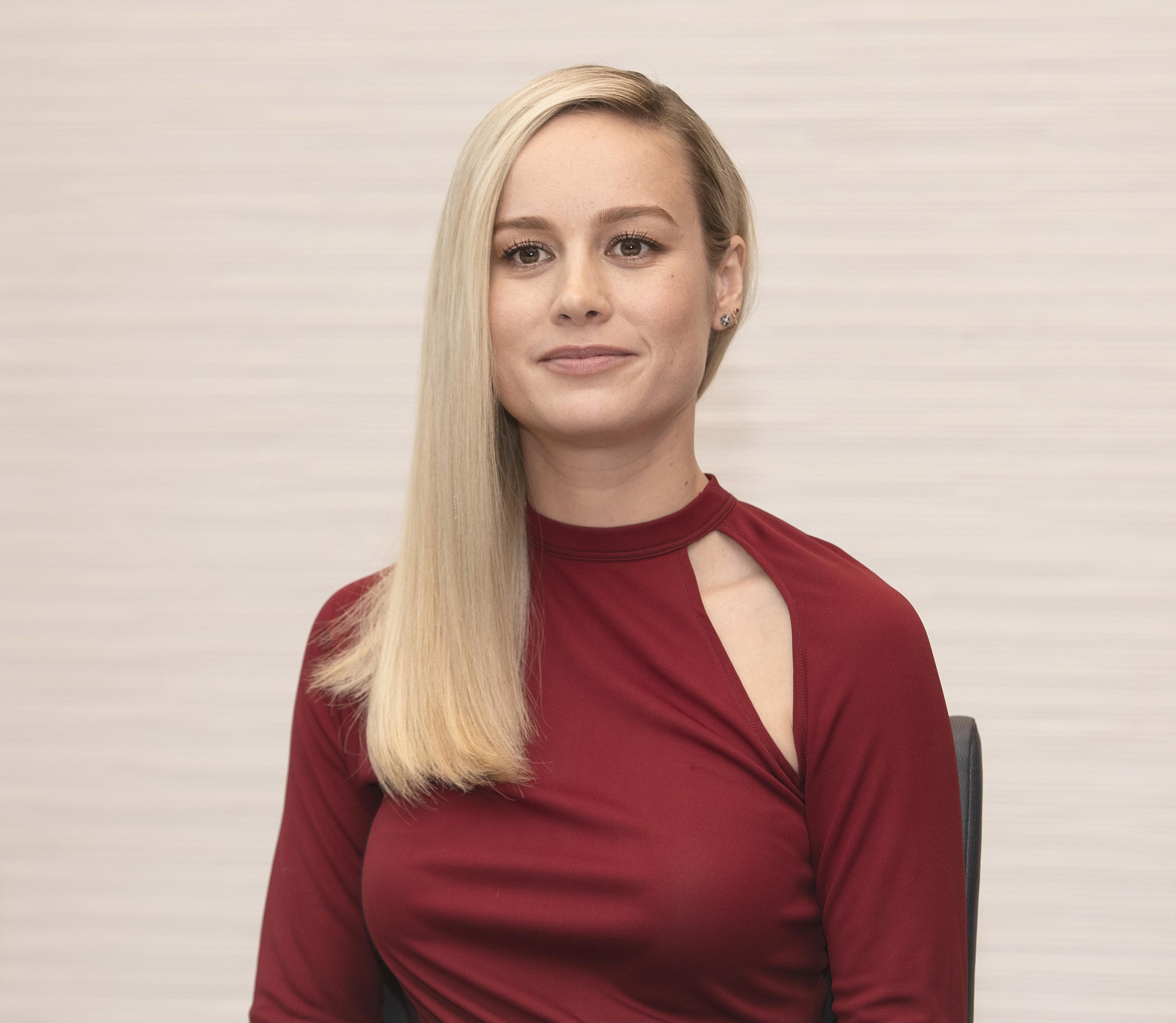 Brie Larson. Credit: PA