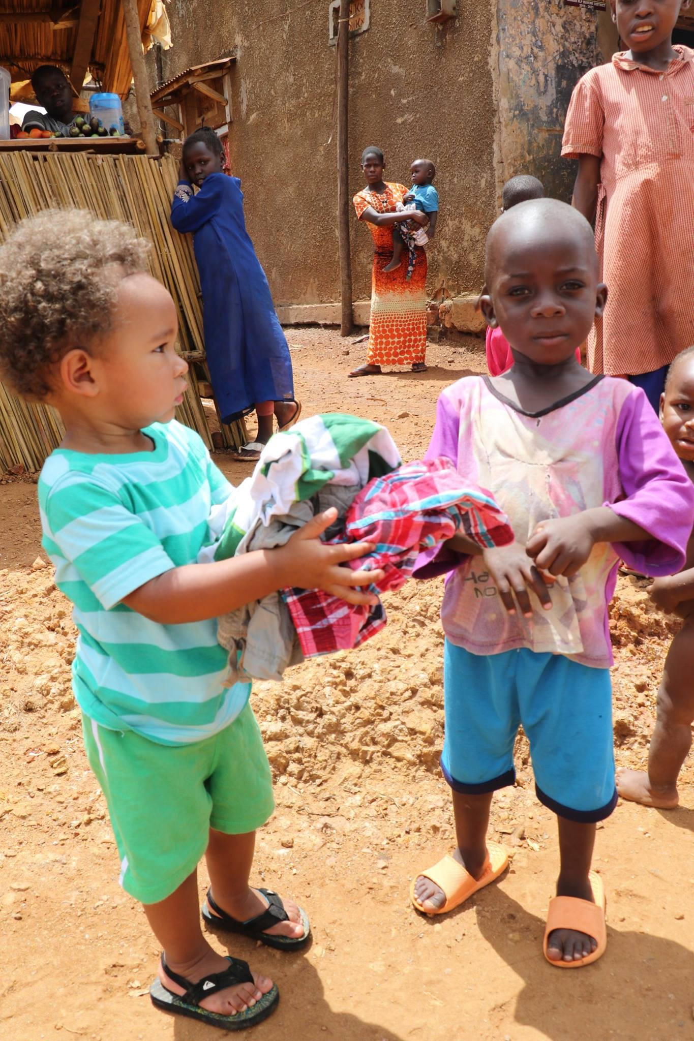 Two-Year-Old Lad Gives Away His Own Clothes To Under